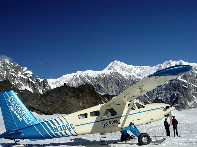 Flightseeing In Denali Park  Denali Dome Home