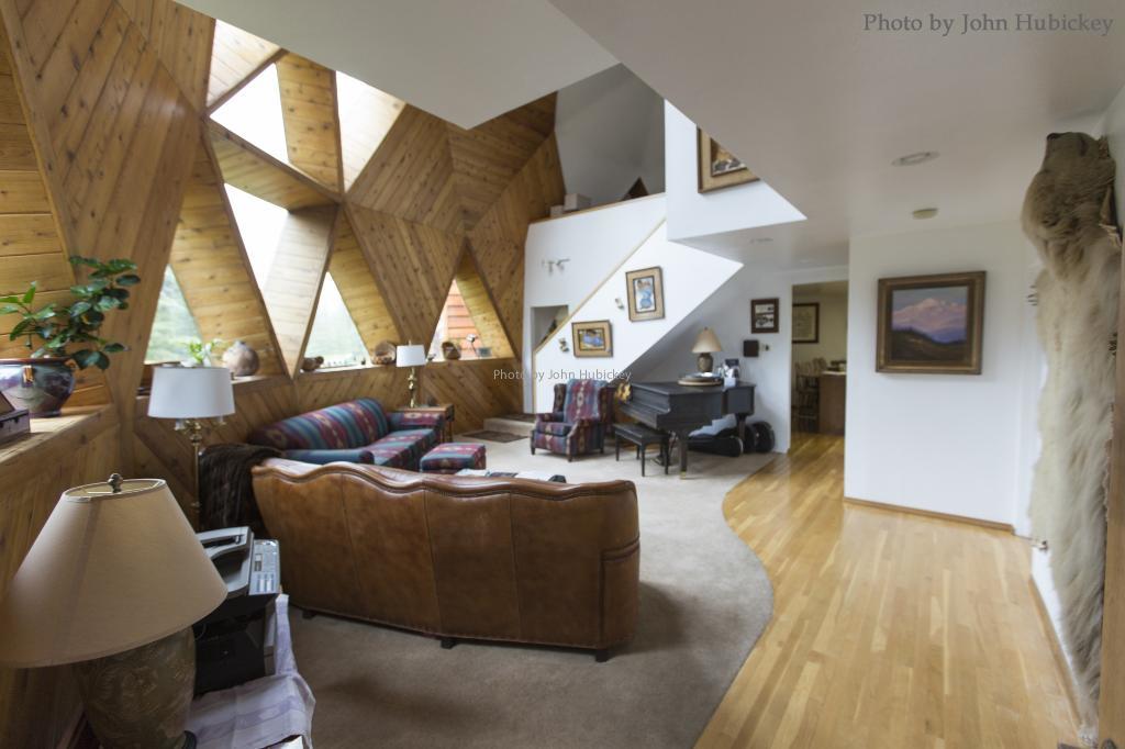 Interior Denali Dome Home B&B