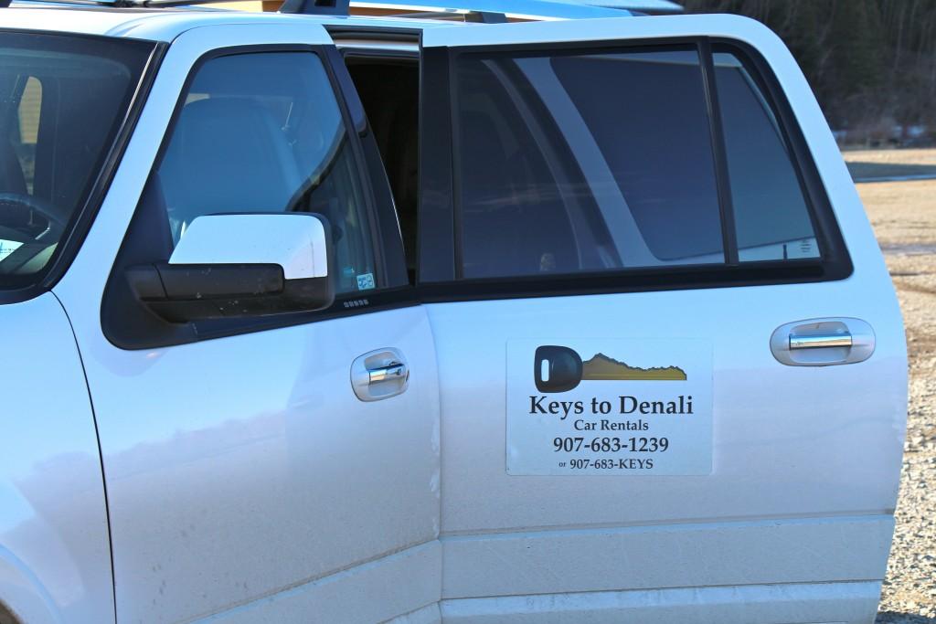 Keys to Denali Car rental