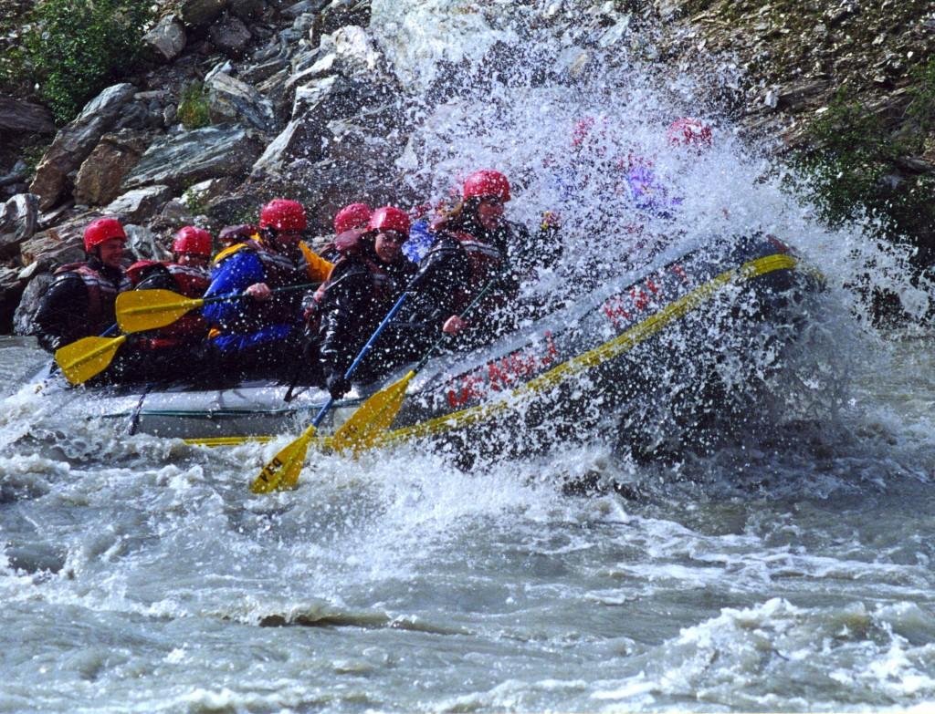 Whitewater rafting denali